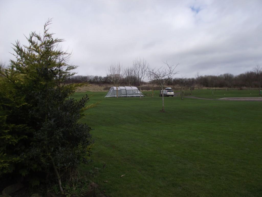 Campsites quieter in winter