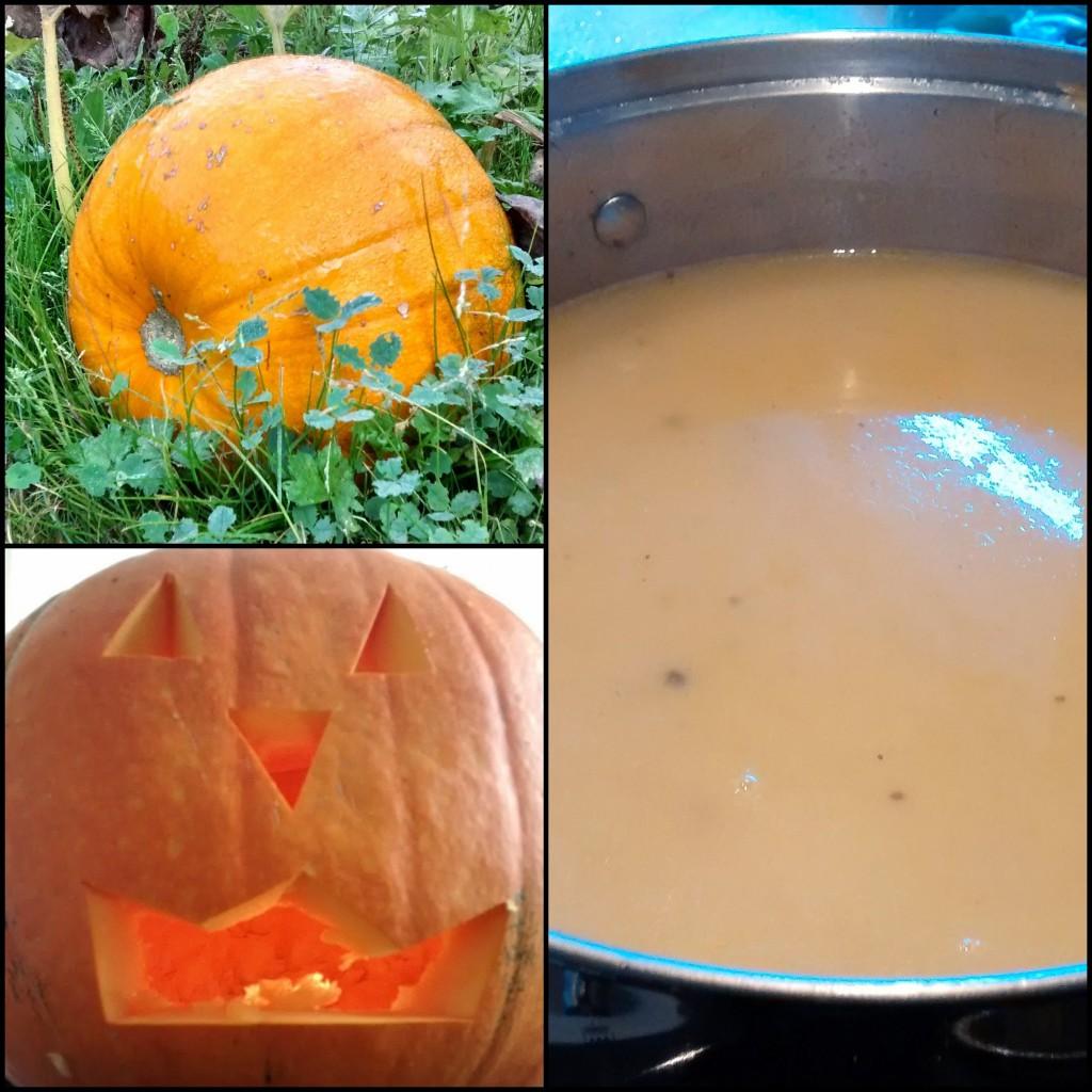 Pumpkin, Soup, Jack-o-Lantern