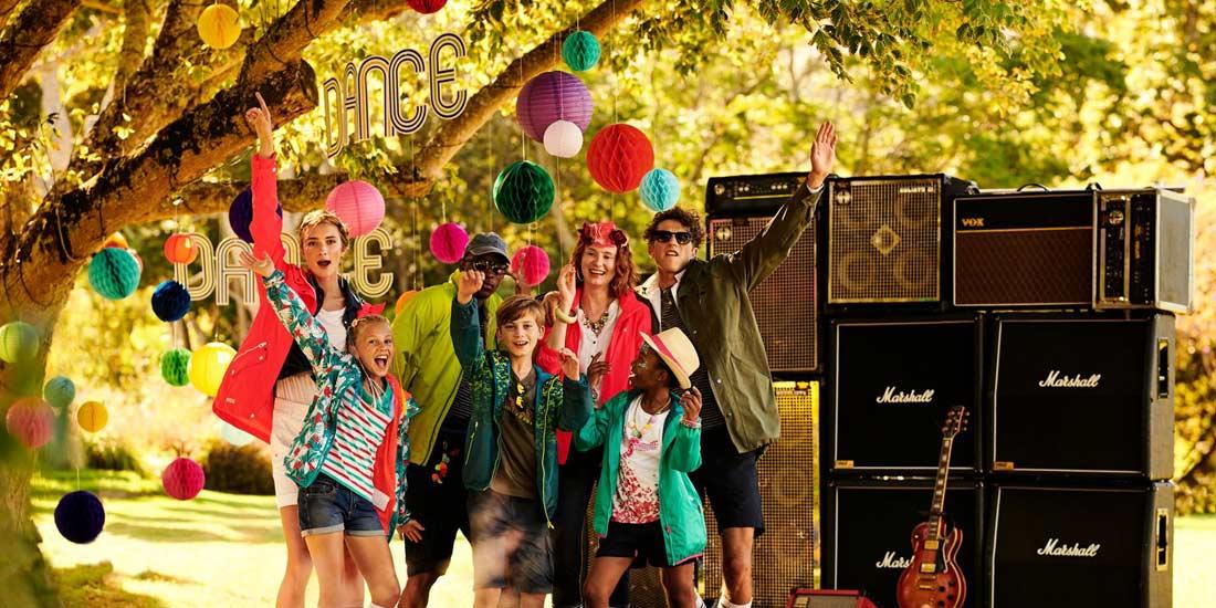 family festival banner
