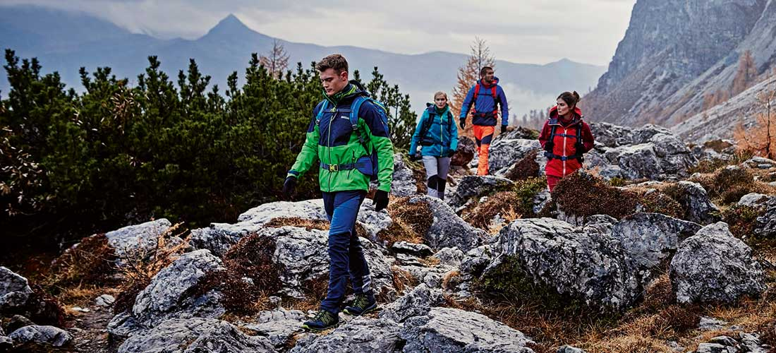 mountain hiking in the UK