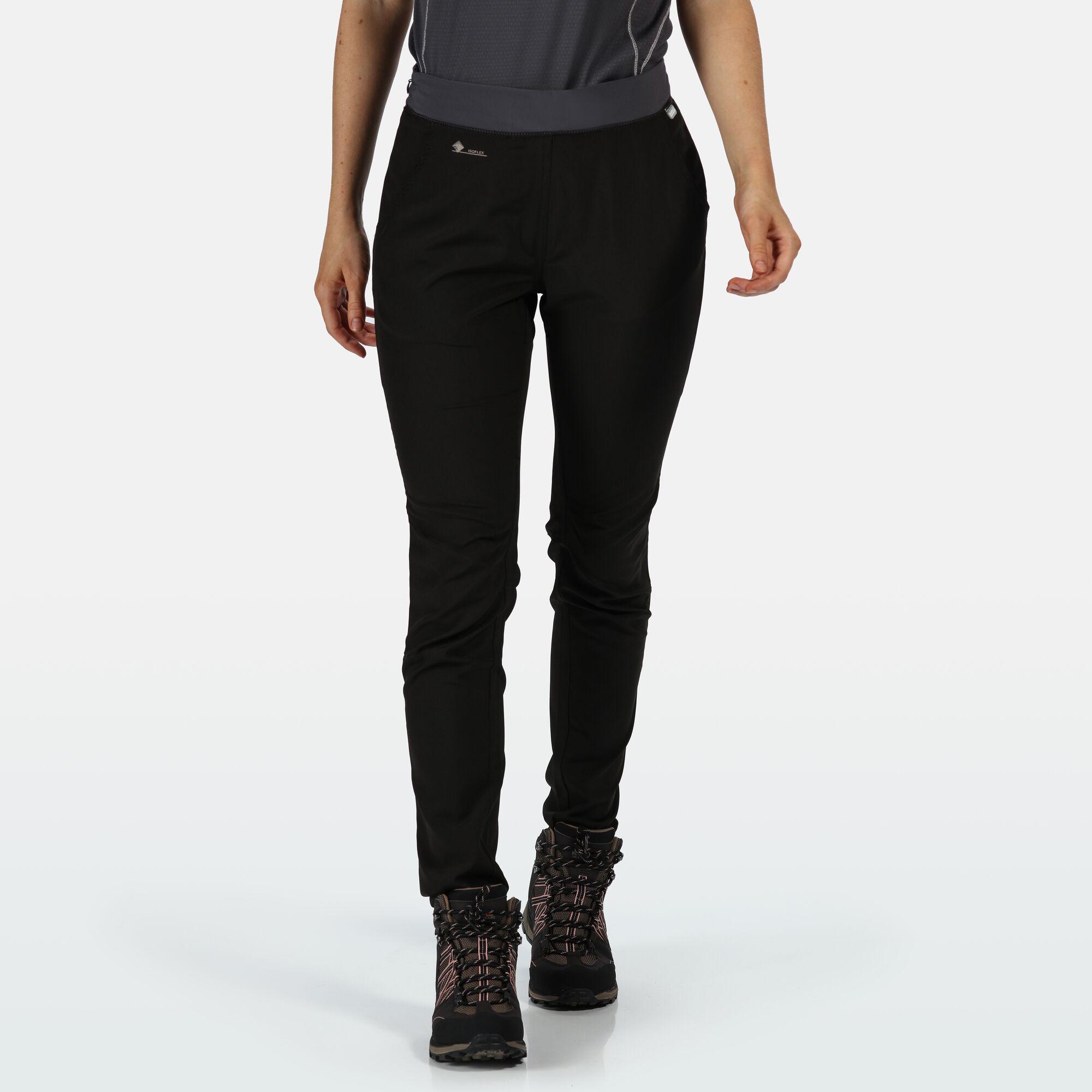 Women's black hardwearing trousers.