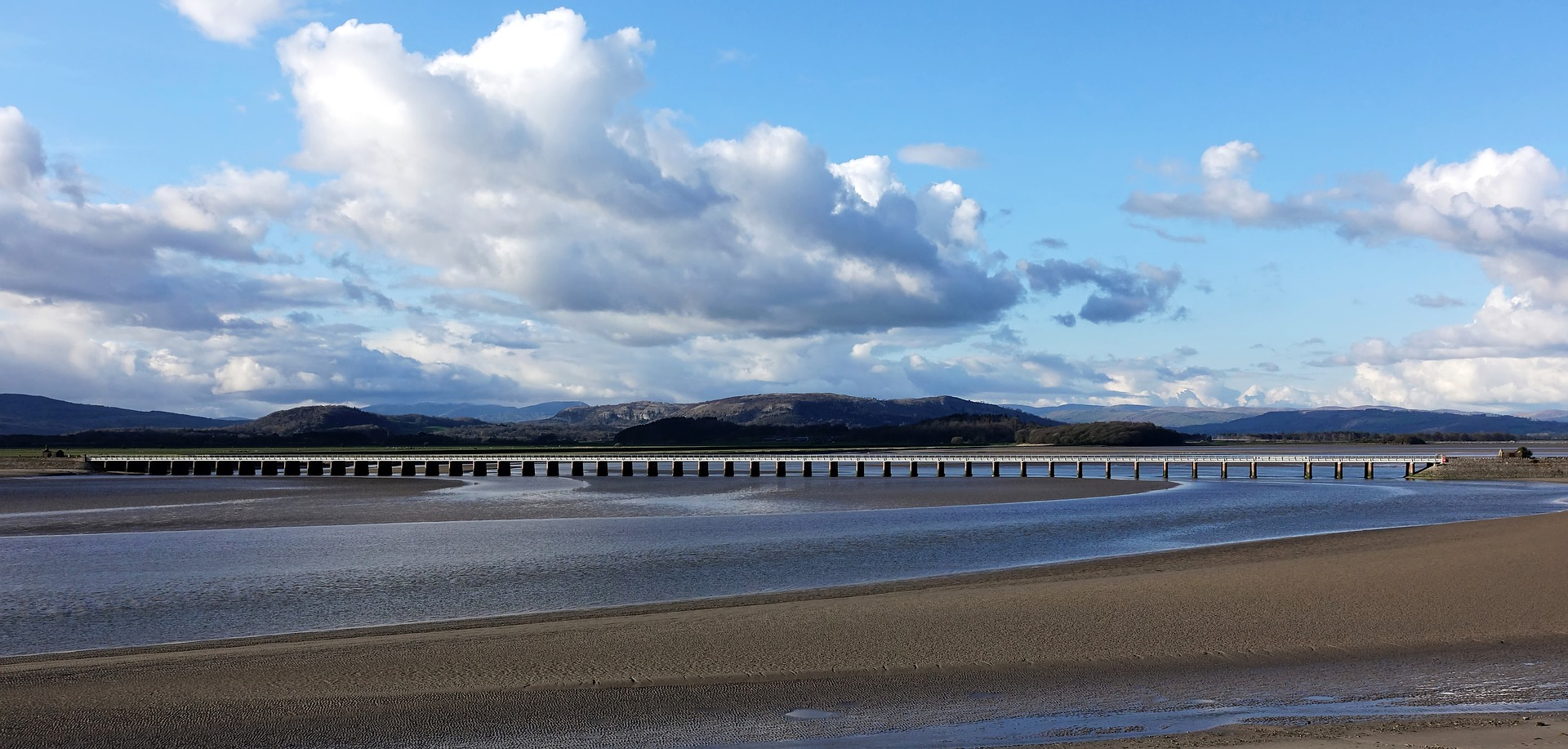 Viaduct near Arnside Knott