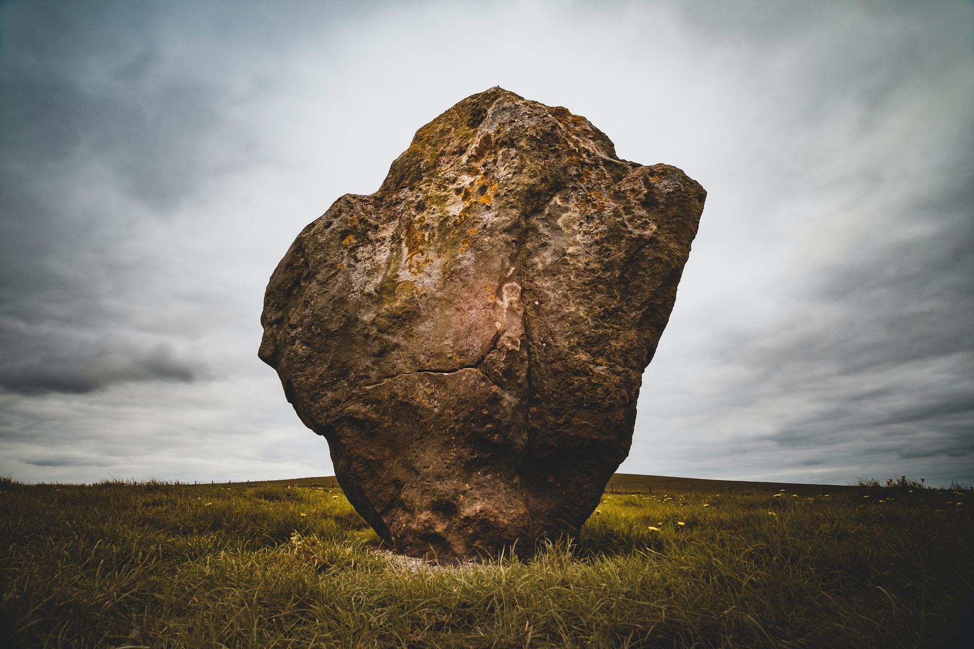 Avebury Monalith ancient rock