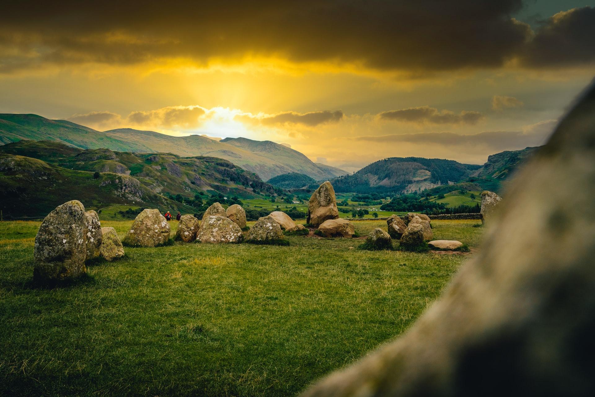 Castlerigg stone circle landscape