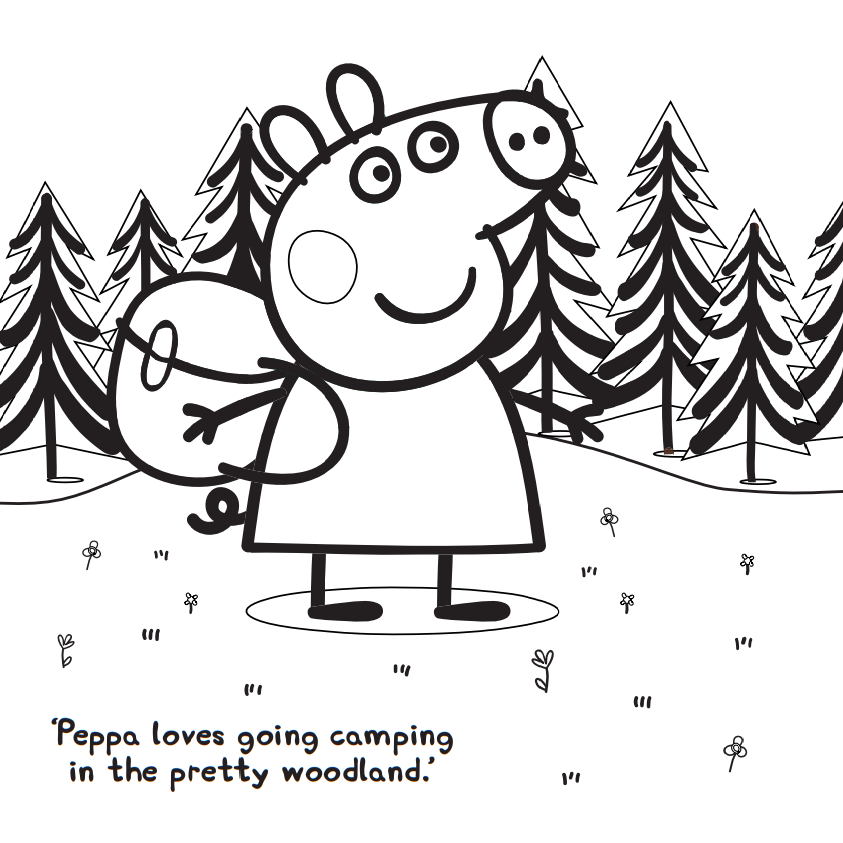 Peppa Pig Exploring Forest