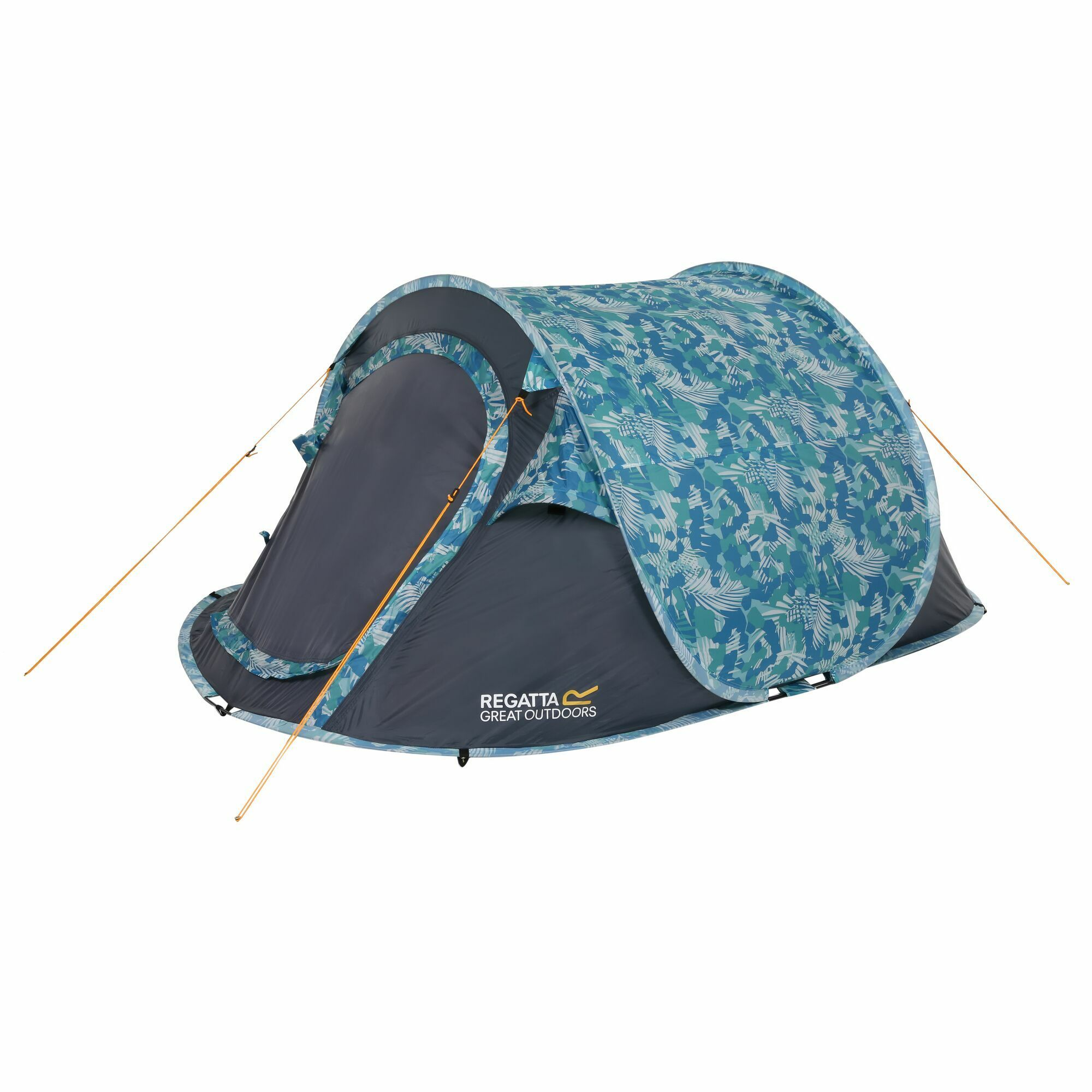 Print Blue Pop Up Tent